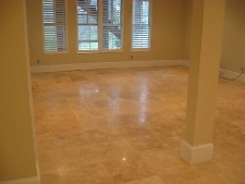 Flatten and Honed Travertine