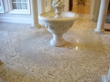 Water Damage Granite