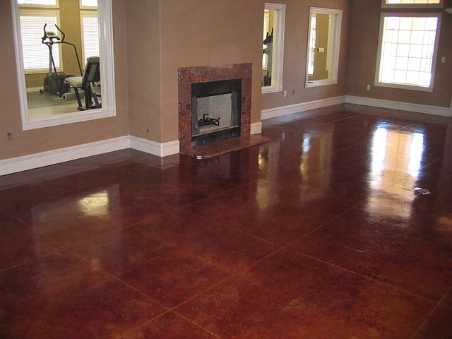 Commercial with Stain