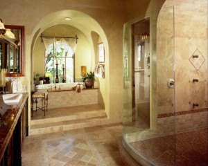 Travertine Bath
